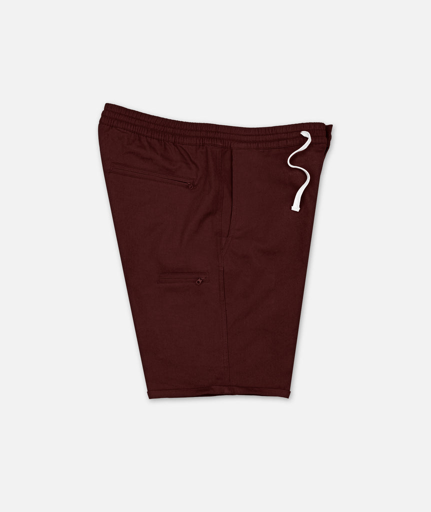 Madison Beach Short - Oxblood