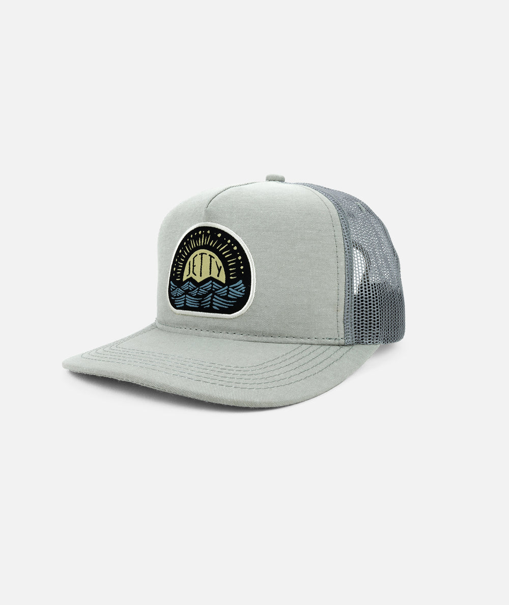 Windblown Trucker - Grey