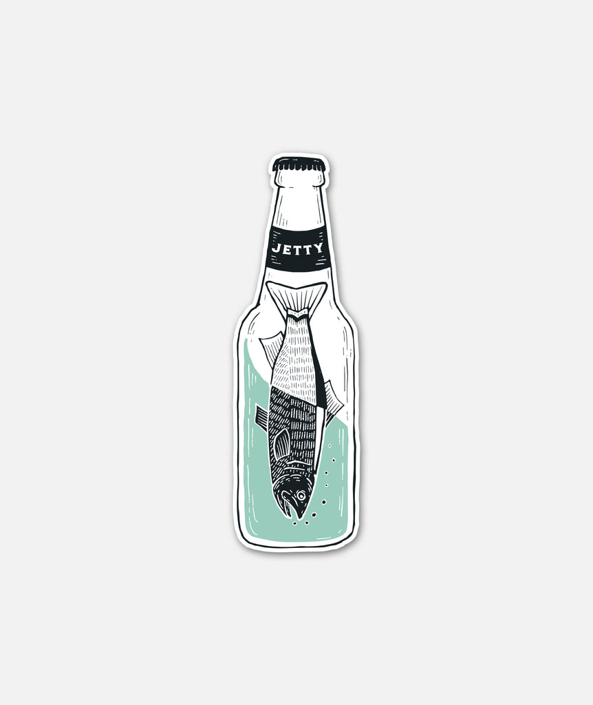 Drinkfish Sticker - Mint