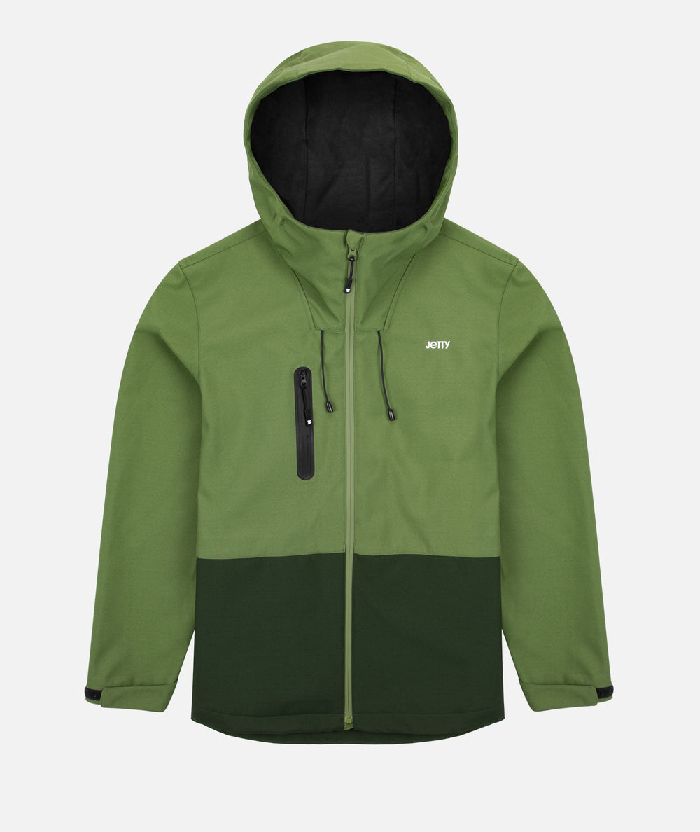 Oyster Shell Jacket - Olive