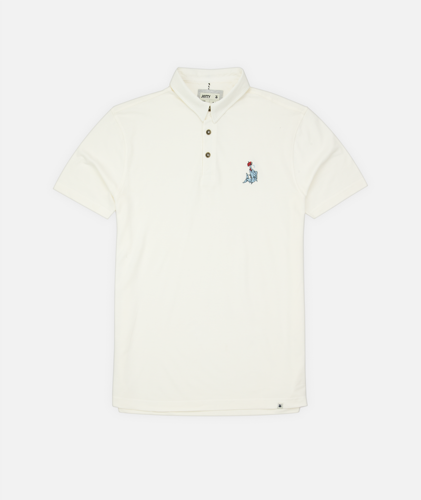 Beer Spear Polo - White