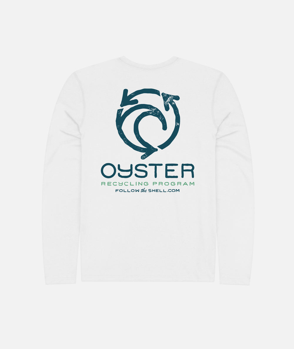 Oyster Recycling LS UV Solar - White