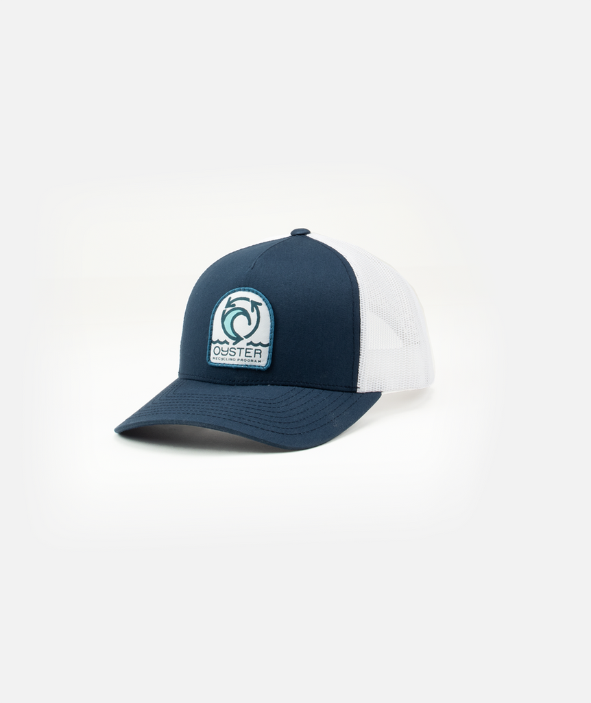 Oyster Recycling Hat - Navy