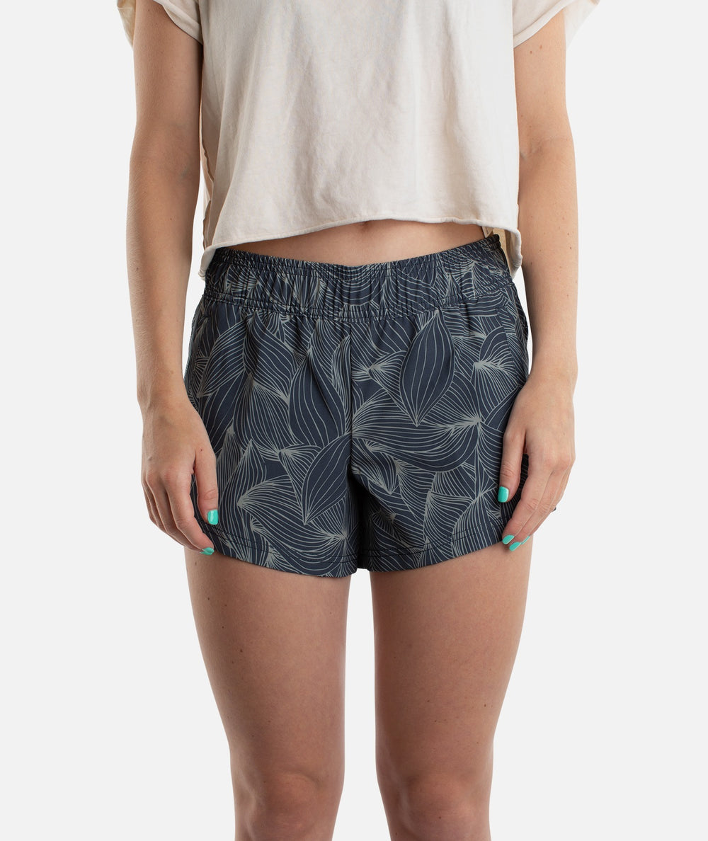 Womens Session Boardshort - Charcoal