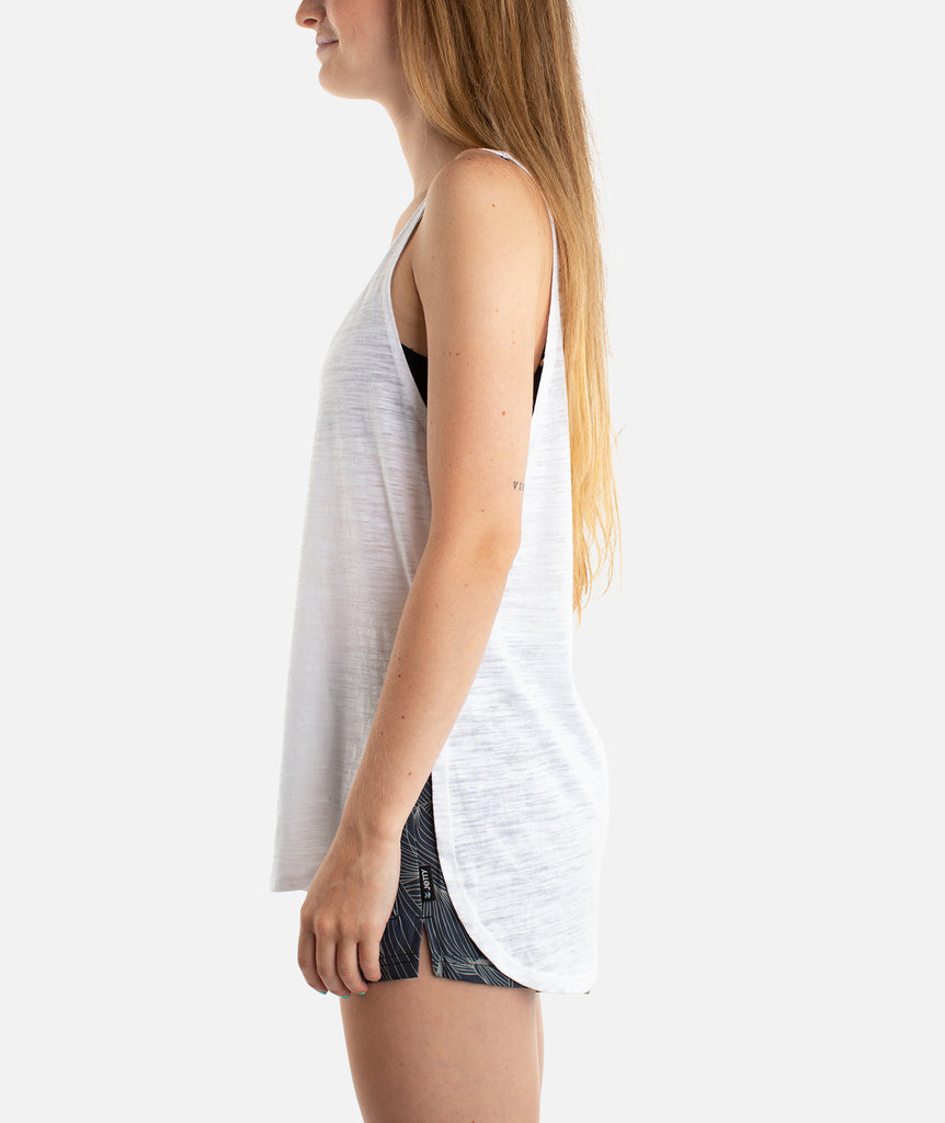Port Anchor Tank - White