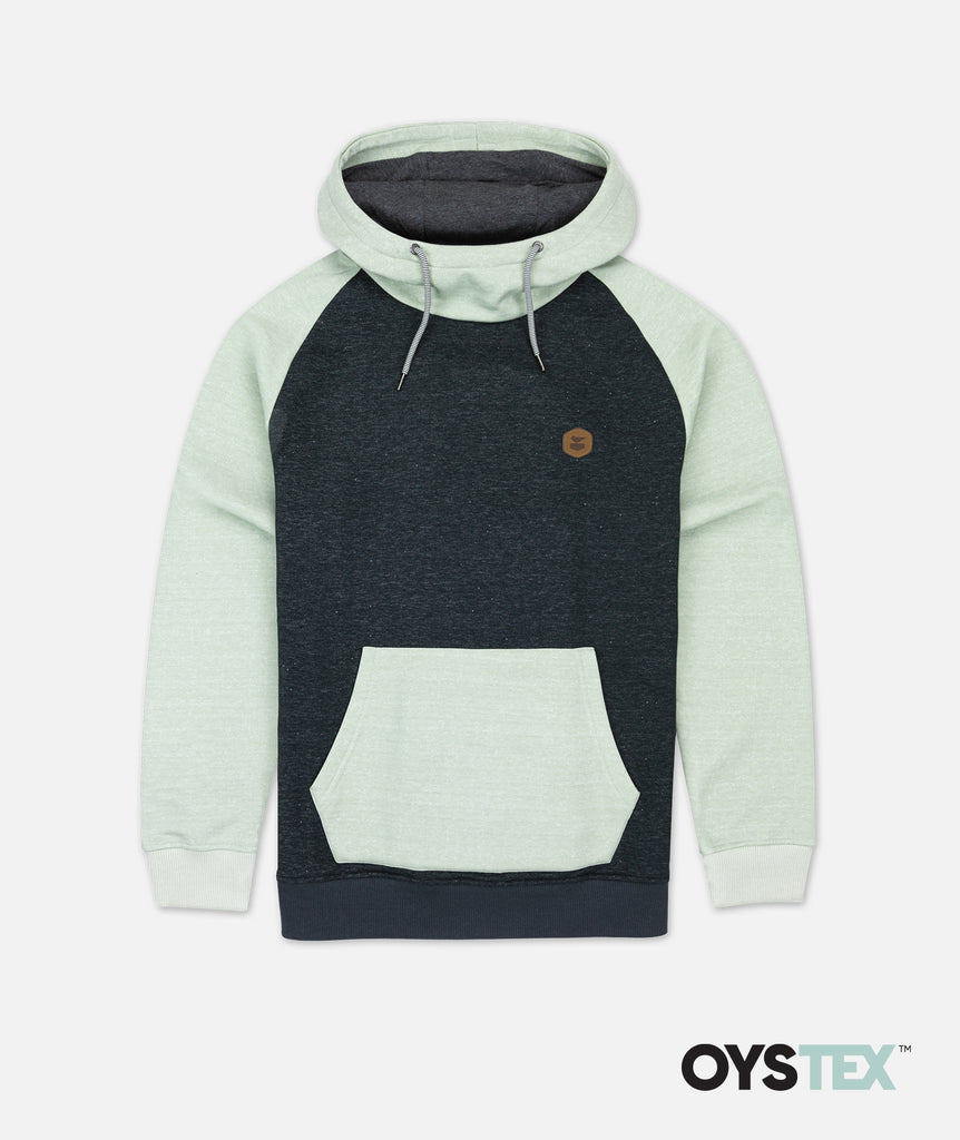 Nautilus High Neck Hoodie - Charcoal