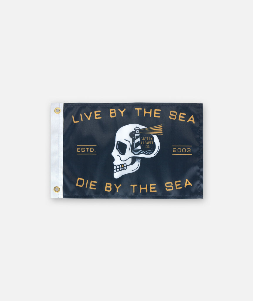 Skullhouse Boat Flag - Black
