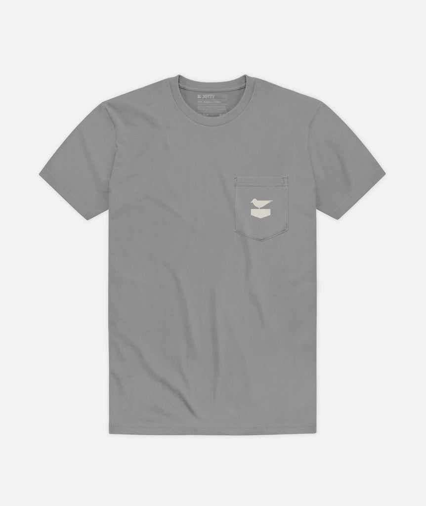 DYOL Pocket Tee - Iron