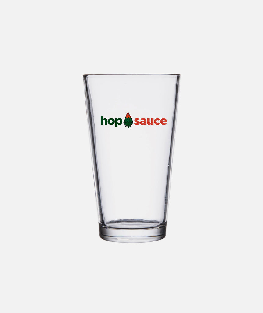 Hop Sauce Pint Glass