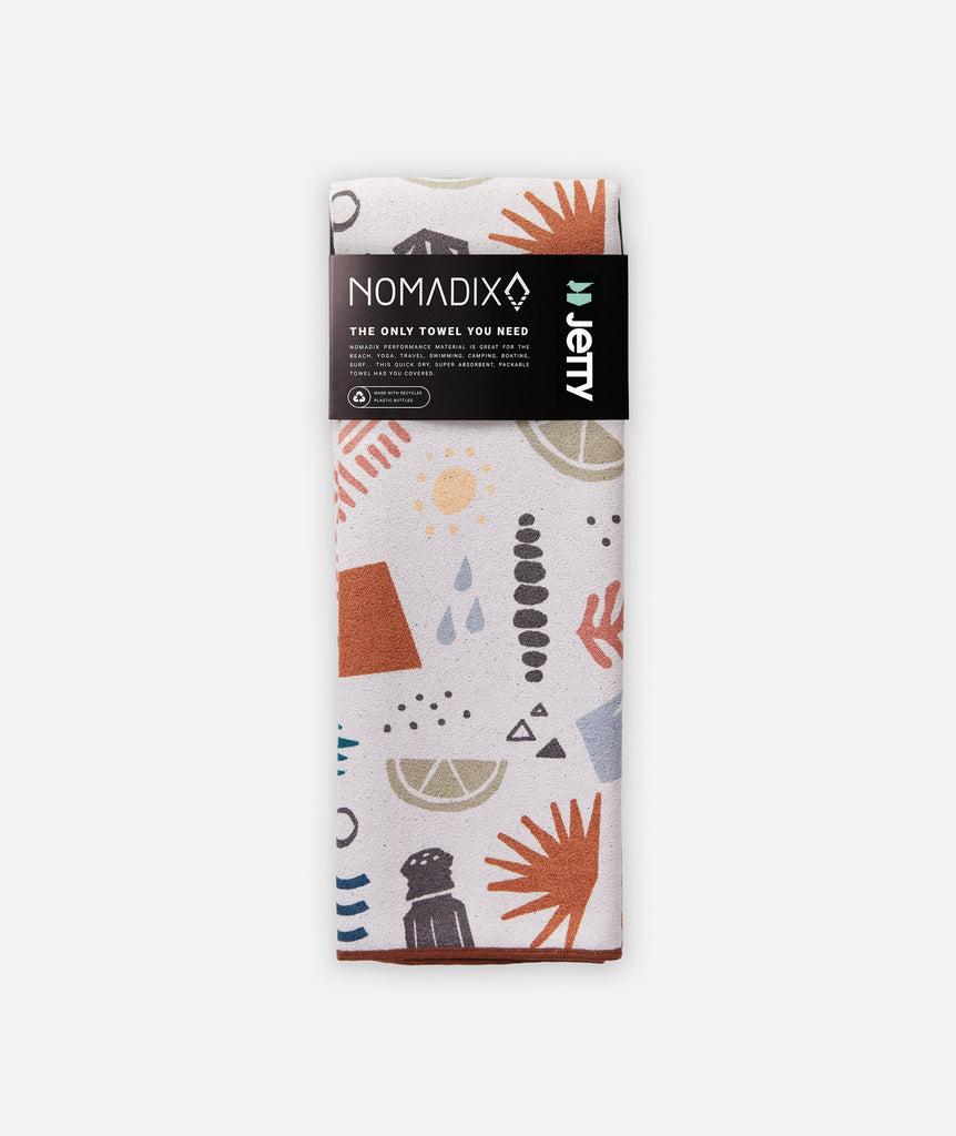 Jetty x Nomadix Playa Towel - Cream