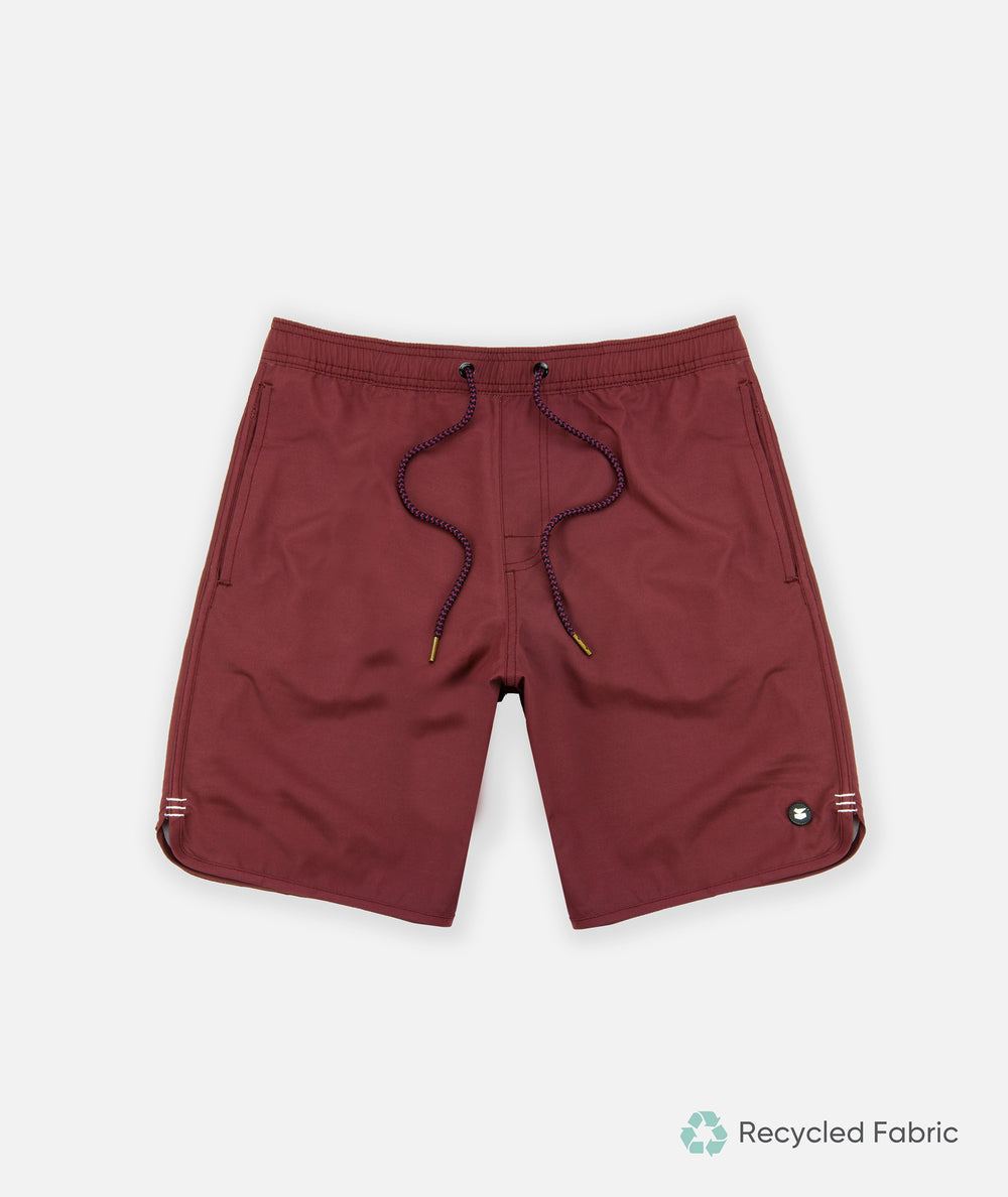 Volley Shorts - Burgundy