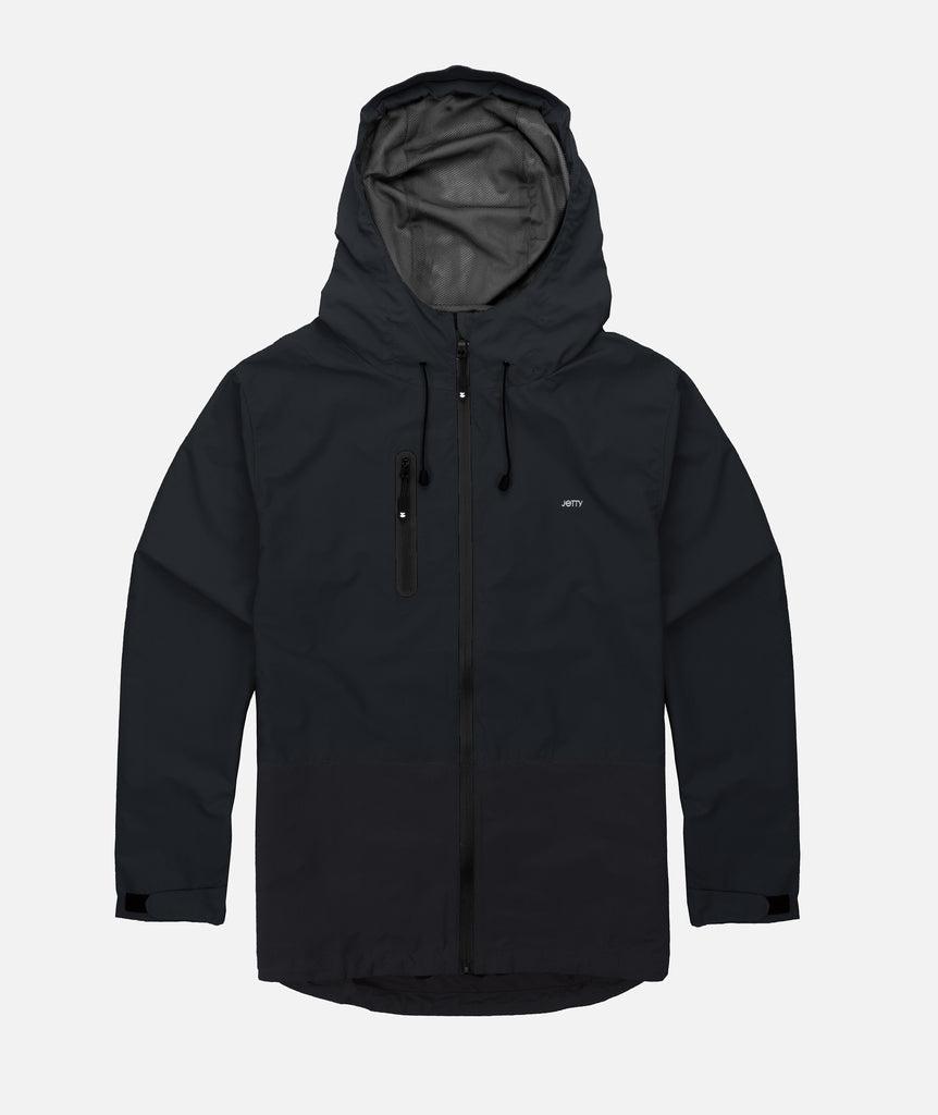 Clam Shell Jacket- Black