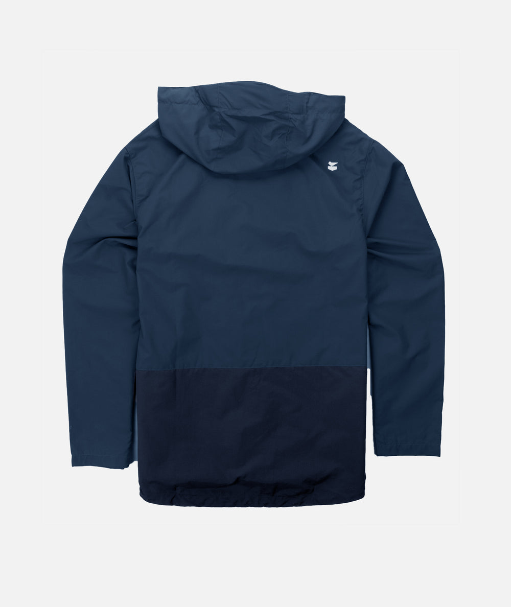 Clam Shell Jacket- Navy