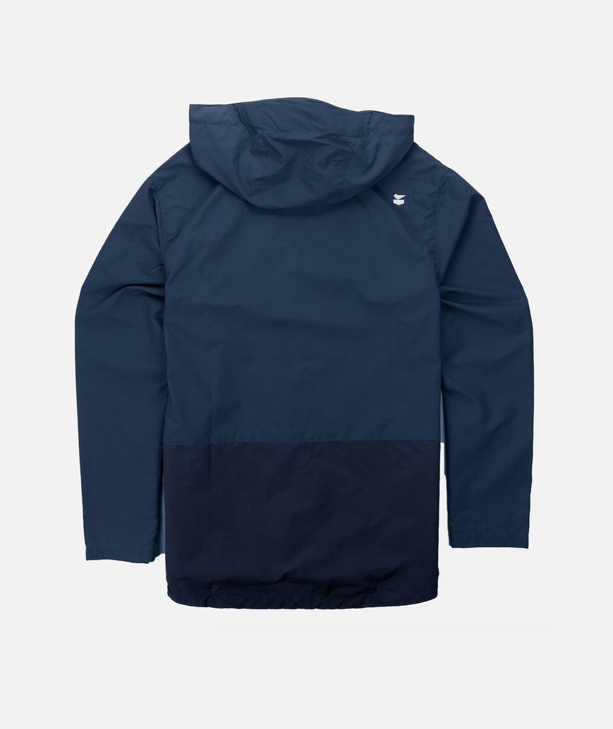 Jetty - Clam Shell Jacket- Navy