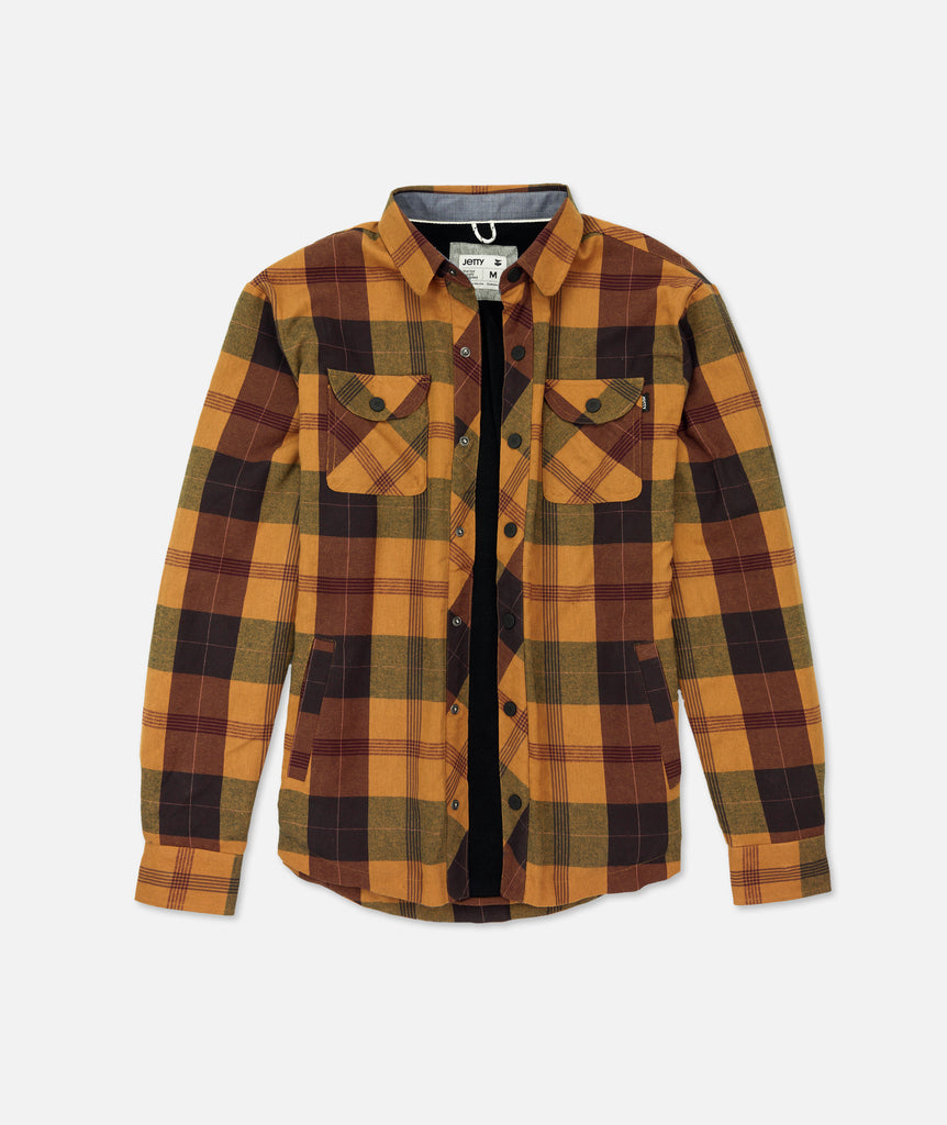 Marshender Polar Fleece Flannel - Brown
