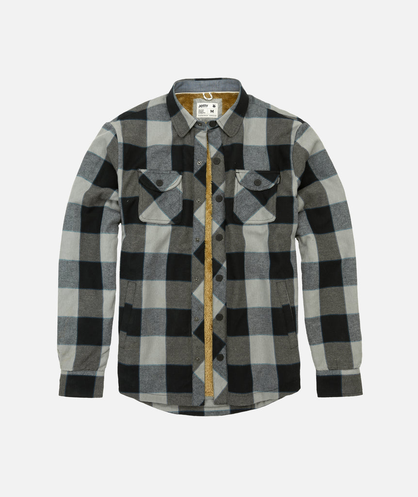 Creek Sherpa Flannel - Grey