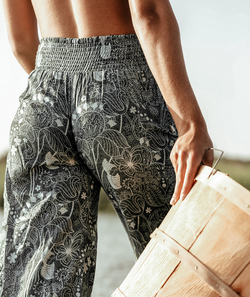 Wildwood Goucho Pants- Teal