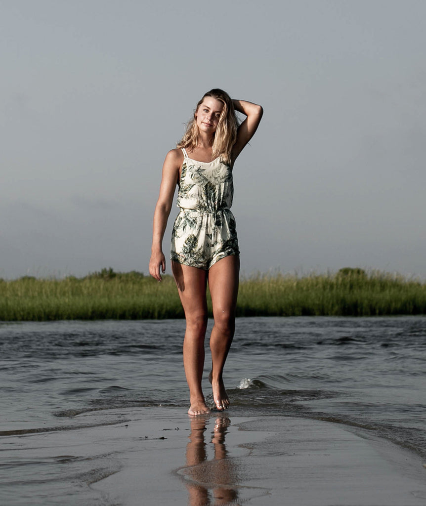 Jetty - Mystic Romper- Natural