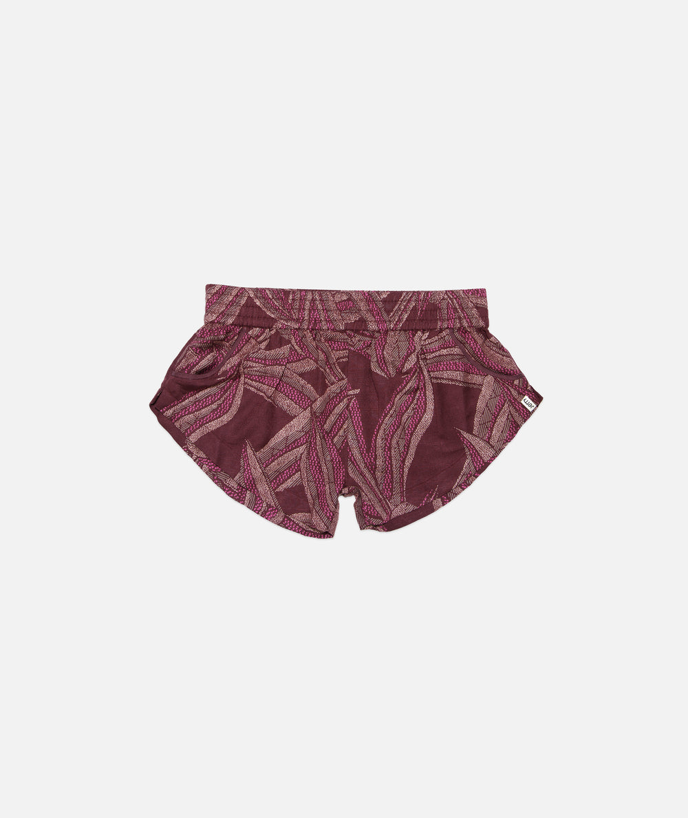 Spring Lake Shorts- Burgundy