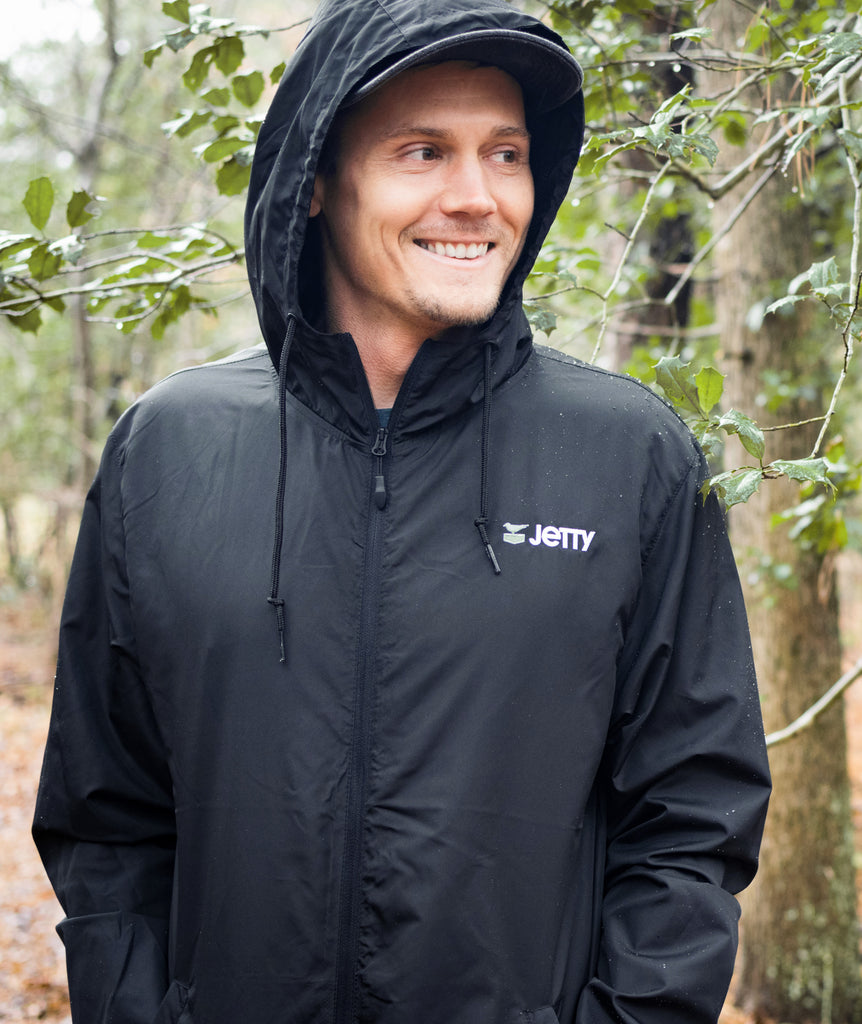 Jetty - West Windbreaker- Black