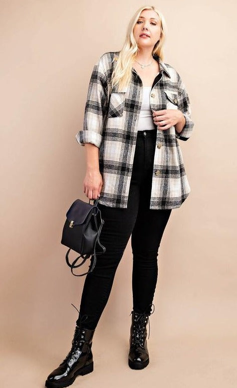 Kendall Plaid Shirt