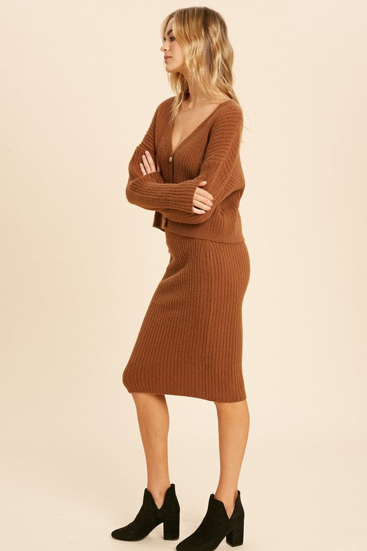 Tulla Ribbed Set