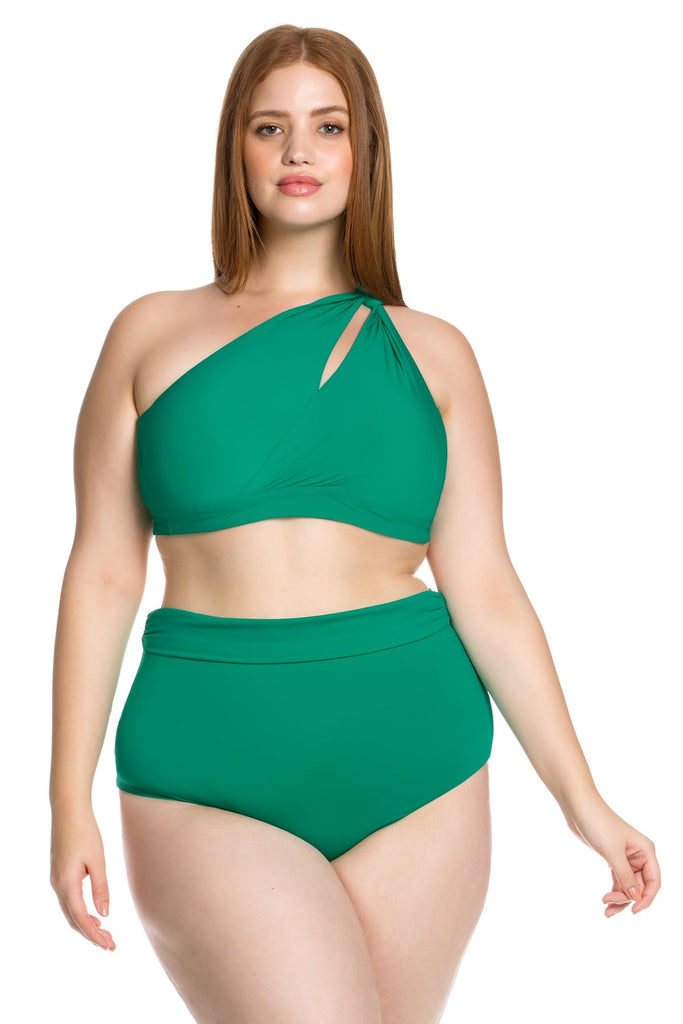 Colour Splash High Waist Bikini Bottom, Becca Etc - Iridescent Swimwear Boutique | Toronto, Canada