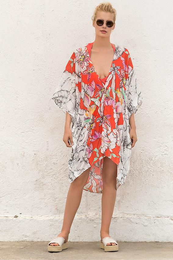 Cali Tunic Cover up - Iridescent Swimwear Boutique