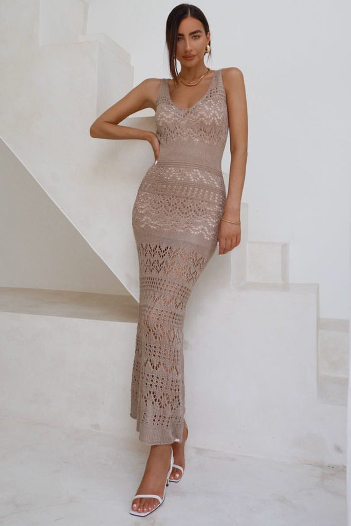 Shona Crochet Maxi - Iridescent Swimwear Boutique