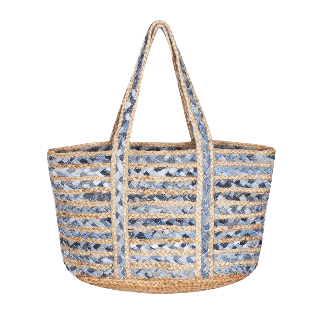 Denim Blues Beach Bag, A&B - Iridescent Swimwear Boutique | Toronto, Canada