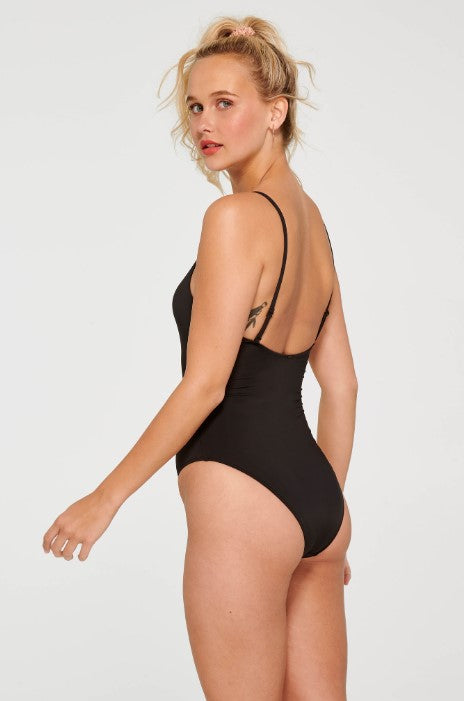 Ruched Front One Piece