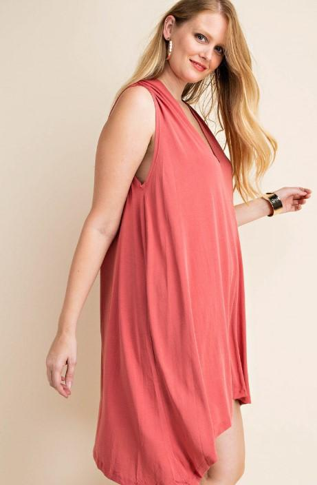 Rose Jersey Dress - Iridescent Swimwear Boutique