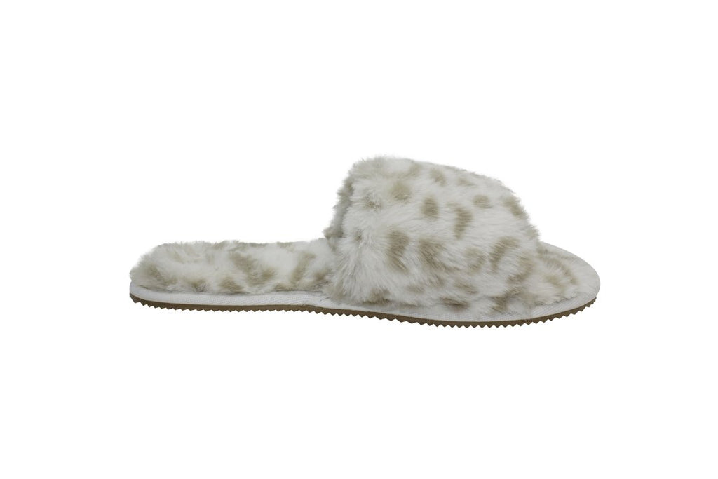 Snow Leopard Slumber Slippers