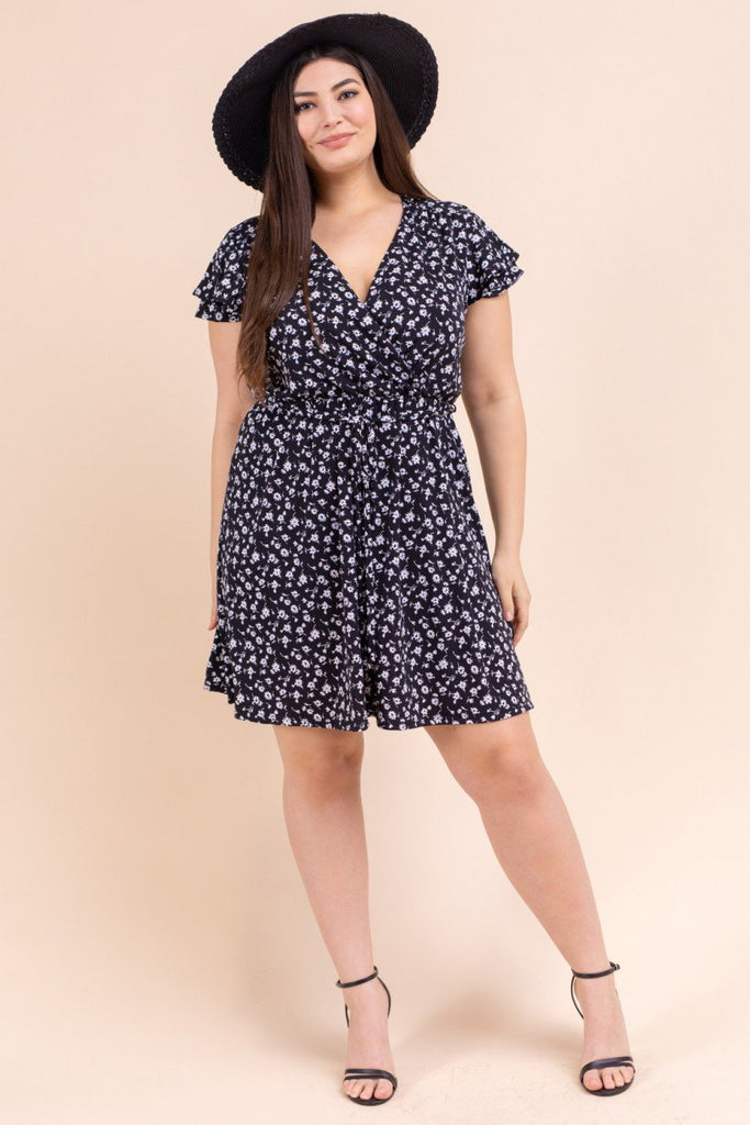 Erin Wrap Dress