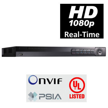 4 CHANNEL HD 1U STAND ALONE NVR