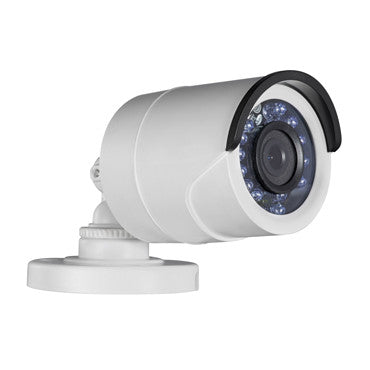 HD 3MP TVI DAY NIGHT WEATHERPROOF IR FIXED LENS BULLET CAMERA WHITE