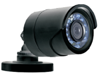 PRO-SERIES HD 1080P TVI DAY NIGHT WEATHERPROOF IR FIXED LENS BULLET CAMERA BLACK