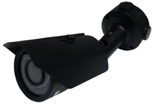 PRO-SERIES HD 1080P TVI DAY NIGHT WEATHERPROOF IR VARI-FOCAL LENS BULLET CAMERA BLACK