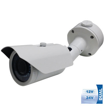MOTORIZED LENS HD 1080P TVI DUAL VOLTAGE DAY NIGHT WEATHERPROOF BULLET CAMERA