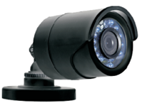 HD 3MP TVI DAY NIGHT WEATHERPROOF IR FIXED LENS BULLET CAMERA BLACK