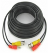 50 FT. PREMADE RG59 & POWER CABLE COMBO BLACK COLOR CCTV CABLE