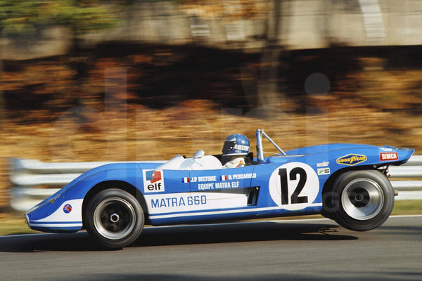 "Matra MS660 : Le Missile  <br><span style=""font-size: 14px"">1000 Kms de Paris 1970 </span>"