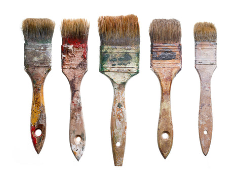Milk Paint Brush