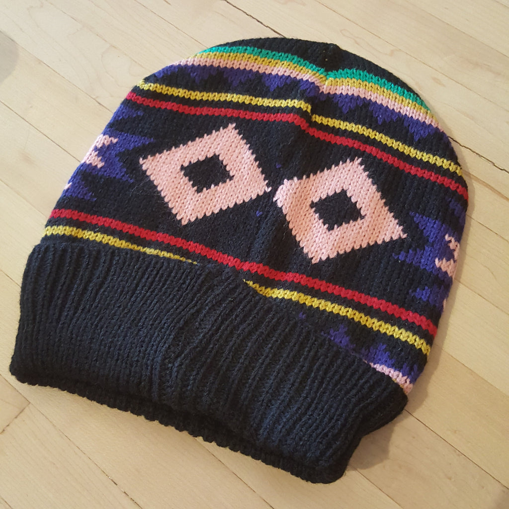 Aztec Touque Black
