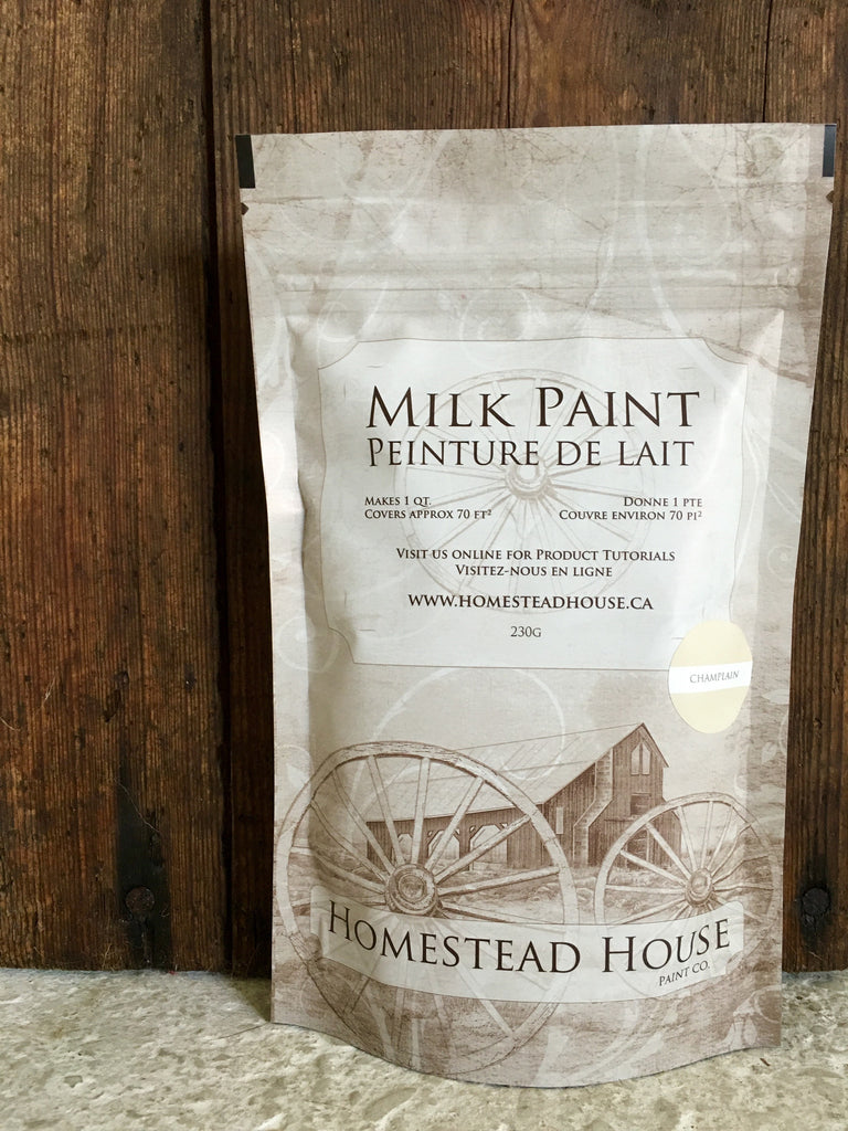 Combed Wool Milk Paint-Homestead House