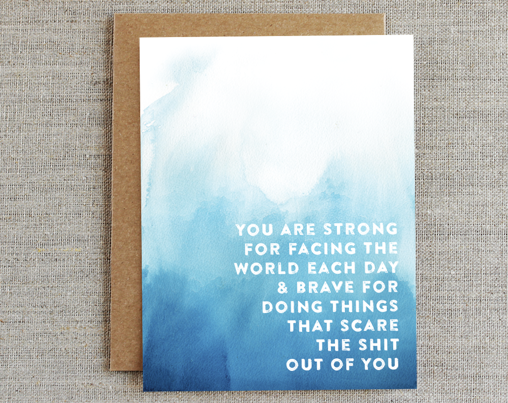 You Are Strong/ Card Of Compassion