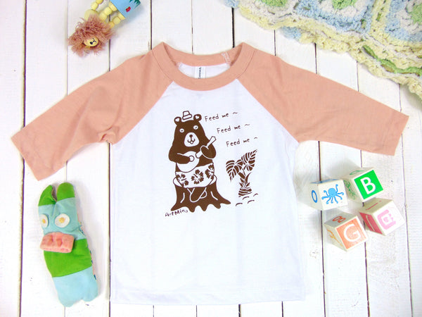 Toddler Baseball Bear Tshirts