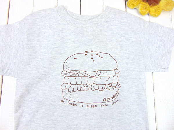 "Kids Tee ""Bigger Burger"""