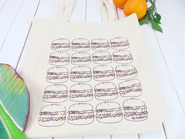 Hamburger Canvas Tote Bag