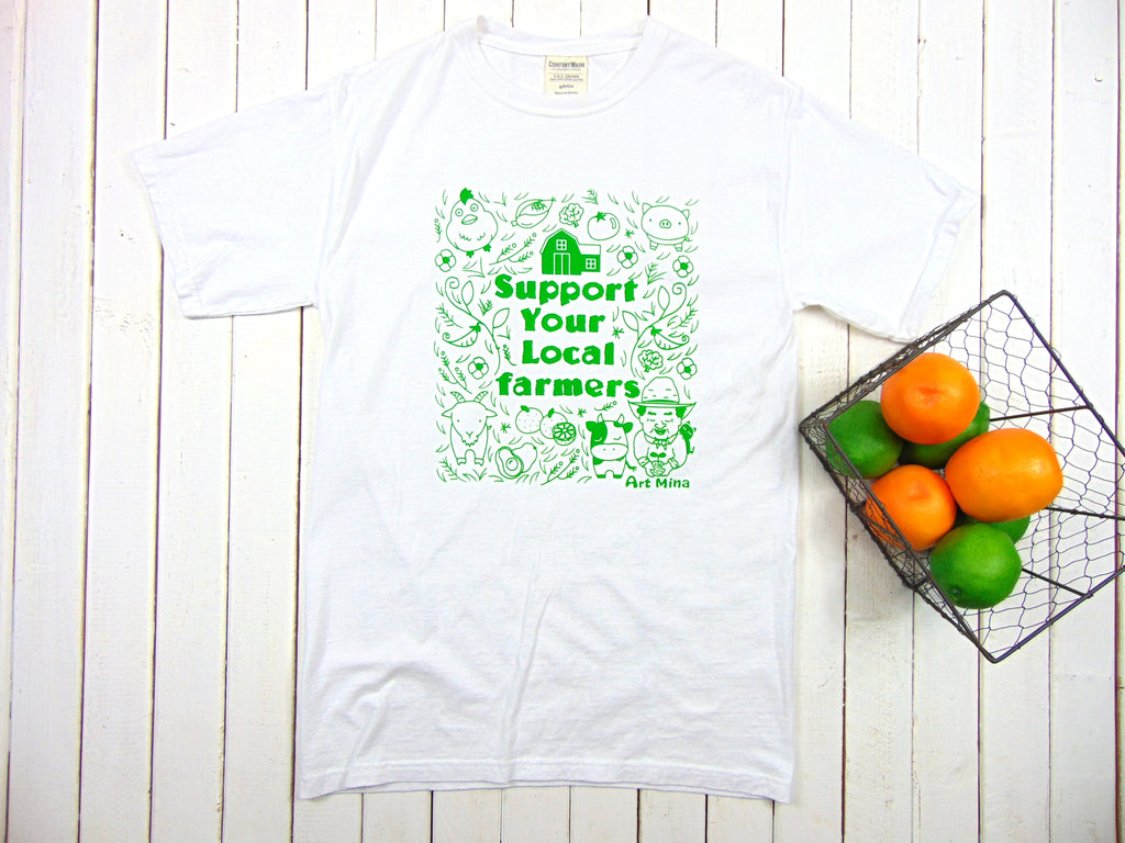 Support Your Local Farmers  American Grow Cotton Unisex T-shirt